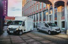 """""""Renault"""" išlaiko komercinio transporto lyderio pozicijas Lietuvoje"""
