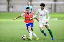 """Vilniaus """"Žalgiris"""" sezoną pradėjo sunkia pergale"""