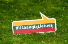 """Prie kampanijos ,,Už saugią Lietuvą"""" jungiasi krizių centrai"""