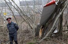 Smolensko tragedija: lenkai taško nededa