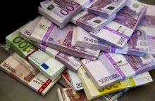 Inkasatorius pavogė daugiau kaip 13 milijonų eurų, kad išpirktų pagrobtą dukterį