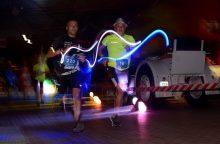 Paskutinę vasaros naktį – tikras bėgikų vakarėlis Kaune