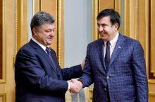 Pilietybės atėmimas iš M. Saakašvilio – nulemtas ambicijų?