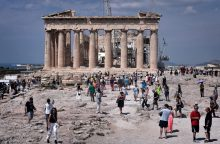 Pernai Graikijoje lankėsi rekordinis turistų skaičius