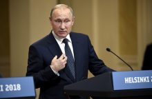 V. Putinas: Rusija yra per didelė, kad būtų izoliuota