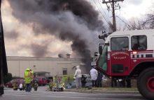 Sprogimai JAV kosmetikos fabrike: žuvo žmogus, sužeistųjų – mažiausiai 30
