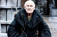 """Sulaukęs 93 metų mirė """"Sostų karų"""" žvaigždė P. Vaughanas"""