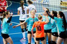Moterų klubai stoja į kovą dėl Baltijos  tinklinio čempionato apdovanojimų