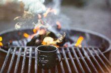 Parodė, kaip iš gamtoje randamų gėrybių išsivirti kvapnią arbatą