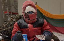 Savo noru užsidarė šalčio kameroje: labiausiai erzino ne temperatūra