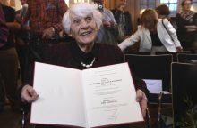 Vokietijoje mirė vyriausia daktaro laipsnį gavusi moteris