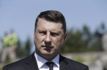 Latvijos prezidentas R. Vėjuonis atvyko į Tbilisį stiprinti bendradarbiavimo