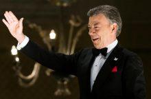 Prezidentas J. M. Santosas: Kolumbijos taikos sutarimas yra pavyzdys Sirijai
