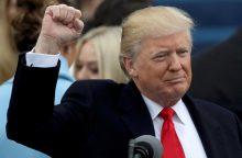 D. Trumpas prisaikdintas 45-uoju JAV prezidentu