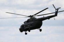 Kolumbijoje sudužus kariškių sraigtasparniui žuvo visi 10 juo skridusių žmonių