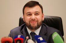 Patvirtinta: Donecko separatistų lyderiu išrinktas D. Pušilinas