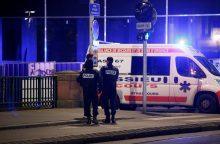 Strasbūre per šaudymą Kalėdų mugėje žuvo trys žmonės