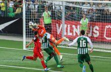 """""""Žalgirio"""" futbolininkai Europos lygos atrankoje patyrė triuškinamą nesėkmę"""