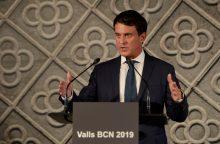 Buvęs Prancūzijos premjeras nusprendė tapti kandidatu į Barselonos mero postą