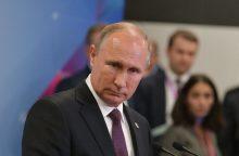 V. Putinas: ginklų kontrolė bus susitikimo su D. Trumpu darbotvarkėje