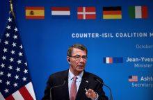 JAV gynybos sekretorius: Sirijoje klojami pamatai Rakai izoliuoti