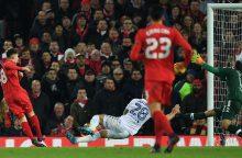 """""""Liverpool"""" ir """"Hull City"""" žengė į Anglijos lygos taurės pusfinalį"""