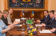 Estijos prezidentė: Ukrainai priklauso teisė pačiai spręsti savo ateitį