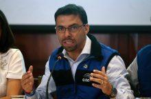Ekvadoro prezidento rinkimuose pergalės vis dar tikisi kairieji