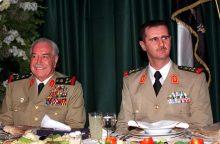 Paryžiuje mirė buvęs Sirijos gynybos ministras