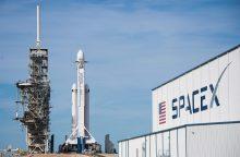 """""""SpaceX"""" paskelbs pirmojo kelionės aplink Mėnulį turisto pavardę"""
