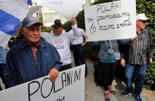 Lenkijos naujasis Holokausto įstatymas baudžiamųjų kaltinimų nenumato