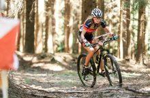 Pasaulio orientavimosi sporto kalnų dviračiais taurėje A. Mickuvienė – šešta