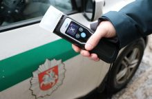 Savaitgalį Kauno apskrityje nustatyti 7 neblaivūs vairuotojai