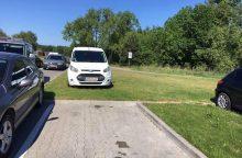 Automobilių parkavimo ypatumai Birštone