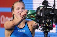 R. Meilutytė prisiminė pirmąjį medalį: tai buvo kaip sapnas
