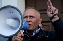 Baltarusijoje opozicijos lyderiui N. Statkevičiui skirtas administracinis areštas