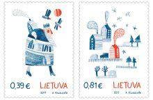 Artėjant šventėms išleidžiami pirmieji Lietuvoje kvepiantys pašto ženklai