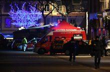 Strasbūro šaudynių įtariamasis tebėra laisvėje