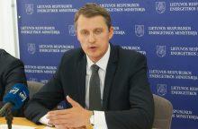 Energetikos ministras išskyrė pagrindines grėsmes regione