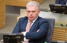 """Seimo """"tvarkiečių"""" seniūnu išrinktas K. Bartkevičius"""