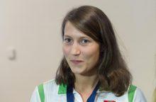 Pasaulio penkiakovės taurės finalas: po fechtavimo aukščiausiai L. Batulevičiūtė