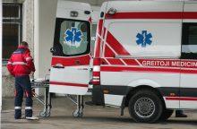 Per avariją Kazlų Rūdoje sužaloti trys žmonės