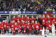 Lietuvos ledo ritulio rinktinę paliko keturi žaidėjai