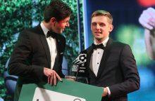 Išrinkti Lietuvos geriausieji: metų futbolininkas – A. Novikovas
