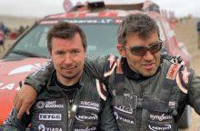 Sunkiausiose Dakaro kopose A. Juknevičius grįžo į TOP-20