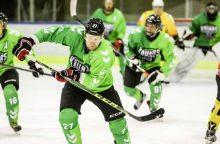 """""""Kauno Hockey"""" ledo ritulininkai į """"Baltijos"""" vartus įmušė 11 įvarčių"""