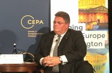 L. Linkevičius: transatlantinė vienybė yra geriausias atsakas į saugumo iššūkius