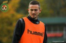 Lietuvos futbolo rinktinės puolėjas keliasi į Izraelį