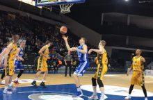 """""""Neptūno"""" krepšininkai reguliariojo sezono finiše įveikė šiauliečius"""
