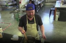 Laboratorijoje gaminama vištiena